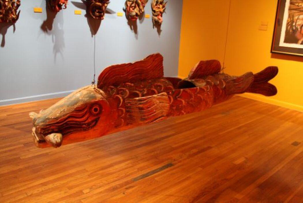 Mexic-Arte museum está ubicado en el número 419 de la avenida Congress,...