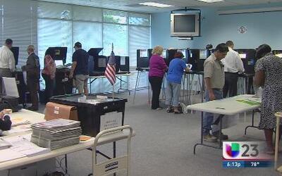 Comenzó la votación temprana en Miami Dade