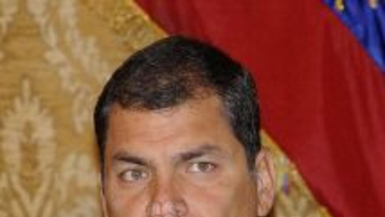 El presidente de Ecuador, Rafael Correa, aseguró estar deprimido tras la...