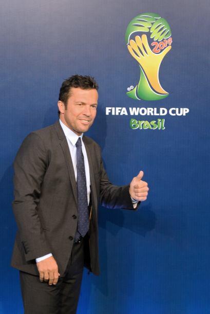 Lothar Matthaus, ex jugador de Alemania y actual técnico de Bulgaria, di...