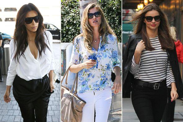 Inspírate en estos 'looks' de las mamás famosas para celebrar el próximo...