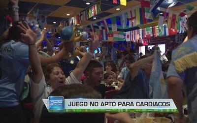 Argentinos sudaron la gota gorda pero pasaron