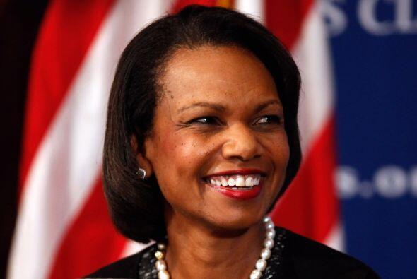 Otra figura pública norteamericana, Condoleeza Rice, ocupó el quinto lug...
