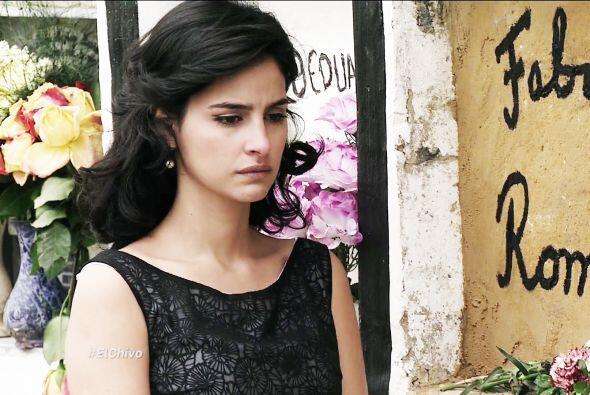 Ángela le dio el último adiós a Fabricio creyendo q...