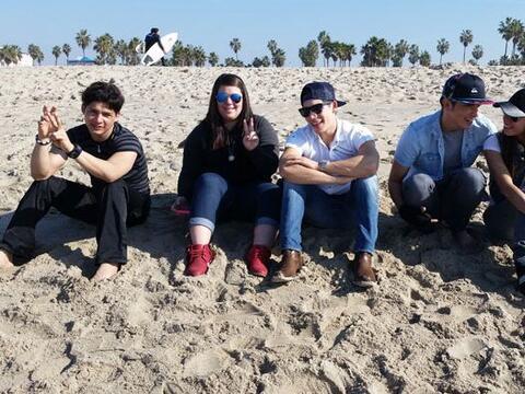 Danny, Yazaira, Poyato, Virginia y Fernando viajaron unos días a...