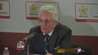 """Justino Compeán: """"Esperamos que México sea la sede para el Mundial 2026"""""""