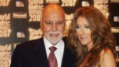 Céline Dion y René Angélil