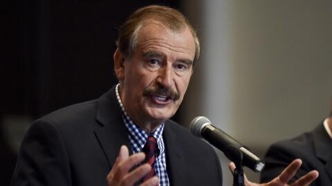 El expresidente mexicano Vicente Fox