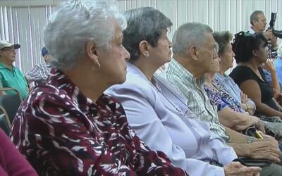 Exiliados cubanos celebran la investidura de Donald Trump como president...