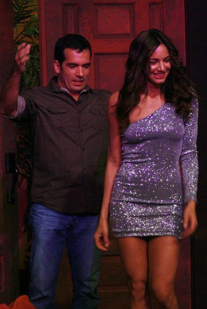 Y más con la visita de bellezas como Valerie Domínguez, ex...