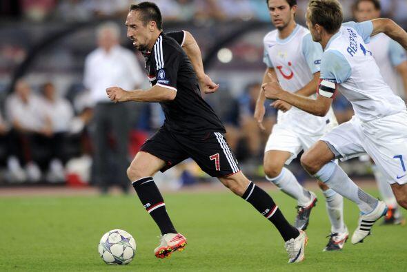 El Bayern Munich también vio acción en este día y l...