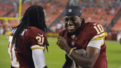 El QB de los Redskins espera un gran 2014 (AP-NFL).