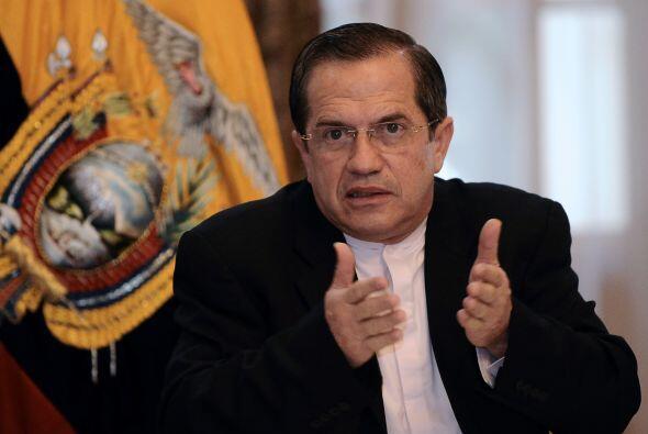 El canciller Patiño aseguró que los vínculos con la Casa Blanca 'hasta a...