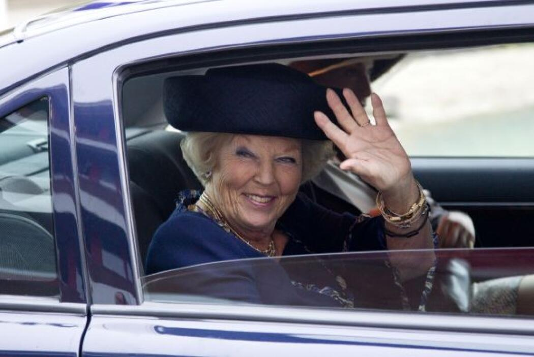 """Conocida como la """"Princesa sonrisa"""", Beatriz de Holanda se casó en 1966..."""