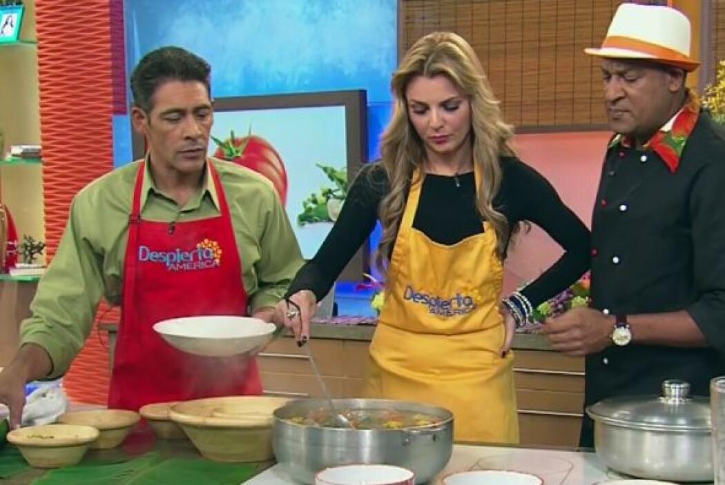 Sancocho Apambichao Prepara esta típica receta dominicana al lado del ch...