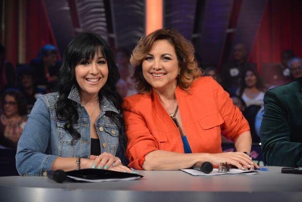 Gloria Mayo, derecha, es la especialista en actuación, una de las discip...