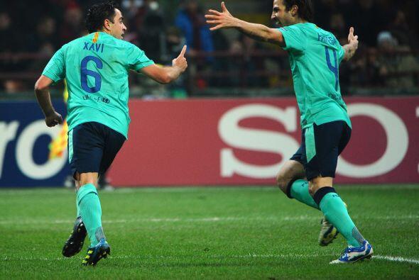 Pero enfrente tenían al Barcelona, que recurrió a la parte...