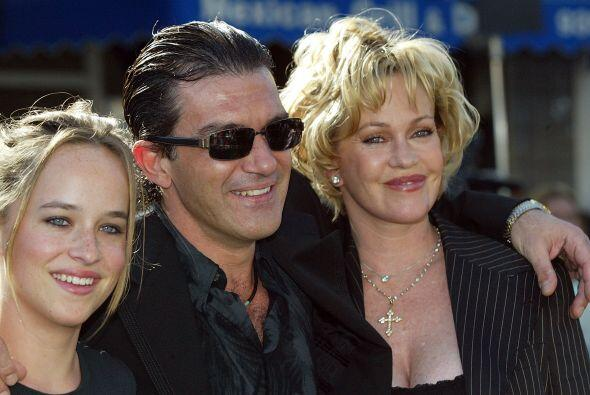 Melanie formó una linda familia, una de las más estables de Hollywood.