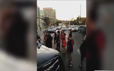 Cuatro personas arrestadas en una manifestación en Tucson