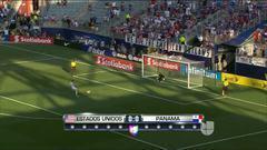 Goooolll!!! Aron Johannsson anota su penalti para el Estados Unidos