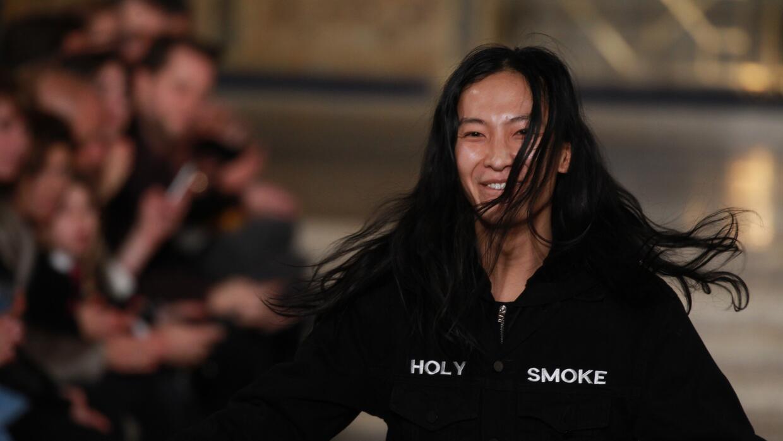 El diseñador Alexander Wang, que siempre viste de negro.