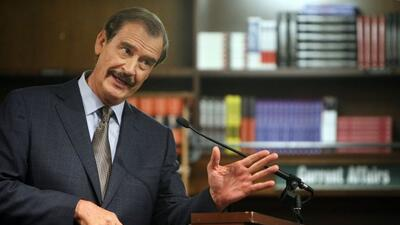 "Vicente Fox, expresidente de México, calificó de ""error monumental"" el u..."