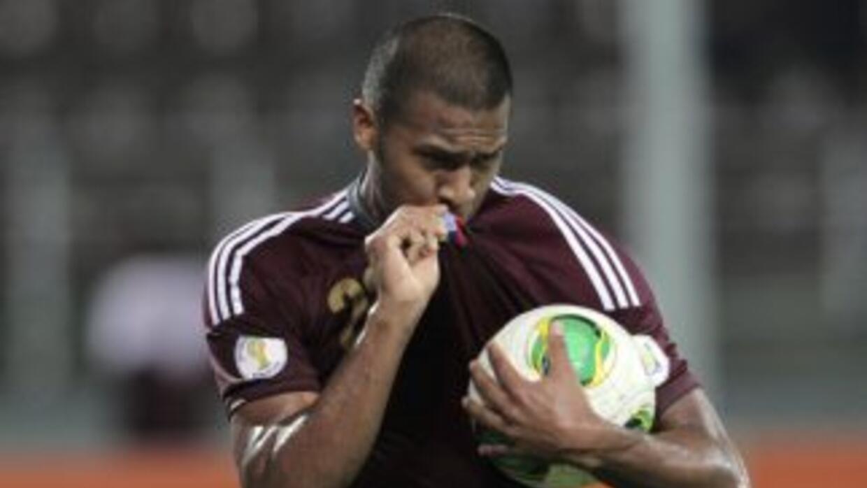 Salomón Rondón será la carta de ataque de Venezuela.