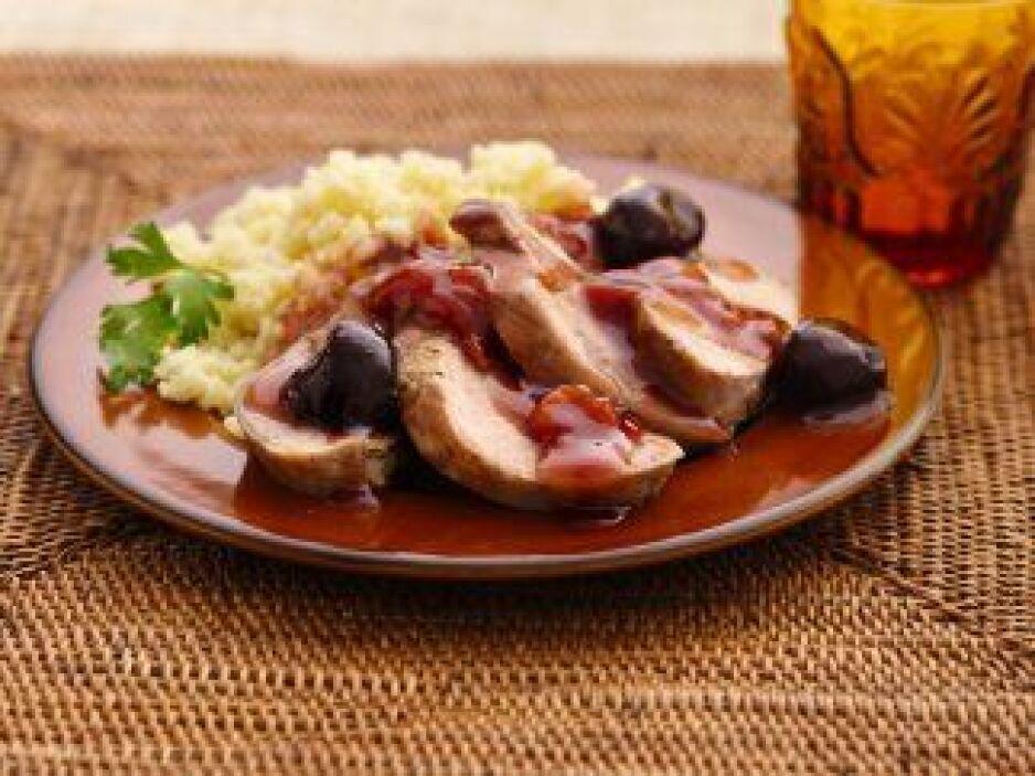 Filete de Cerdo a la Cereza: Una receta de fácil preparación y una excel...