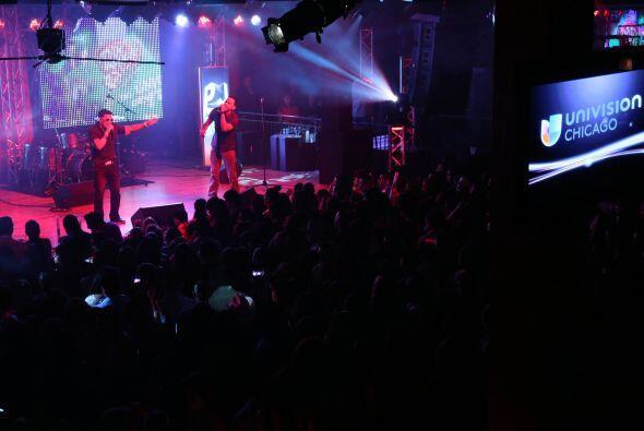 El reventón de Noel Torres en el PJ VIP TOUR Chicago
