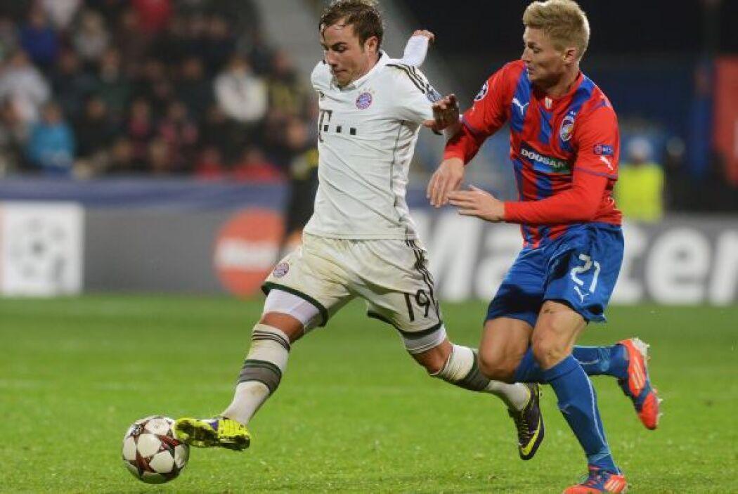 El bayern Munich visitó República Checa para jugar ante el Viktoria Plzen.