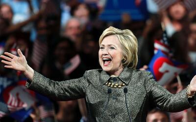 Hillary Clinton gana en cuatro estados de cinco