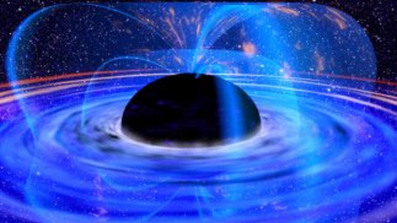Descubren un agujero negro súper masivo en pequeña galaxia.