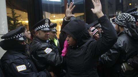Protestas en Chicago