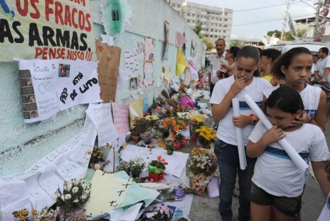 El 7  de abril de 2011 un hombre de 24 años abrió fuego contra su antigu...