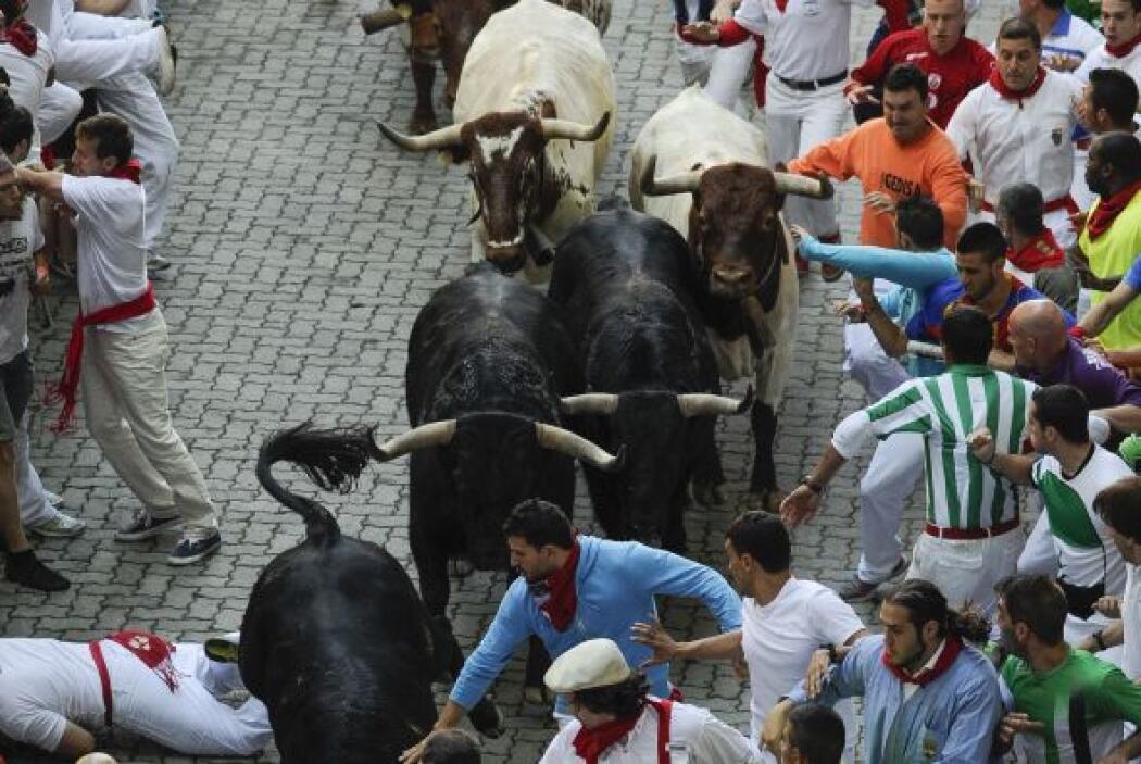 Los seis toros de la ganadería de El Pilar completaron el recorrido del...