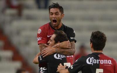 Atlas derrotó 1 - a Toluca en el estadio Jalisco