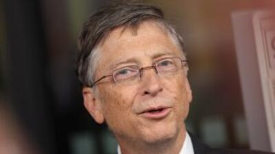 Bill Gates, multimillonario cofundador de Microsoft.