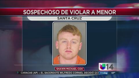Arrestan a un joven de 20 años acusado de violar de una menor de edad