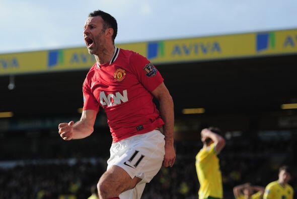 Ese gol significaba la victoria definitiva para el United, que salv&oacu...