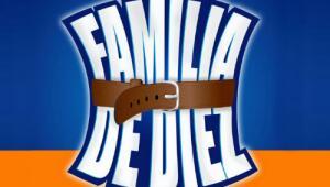 Una familia de diez logo