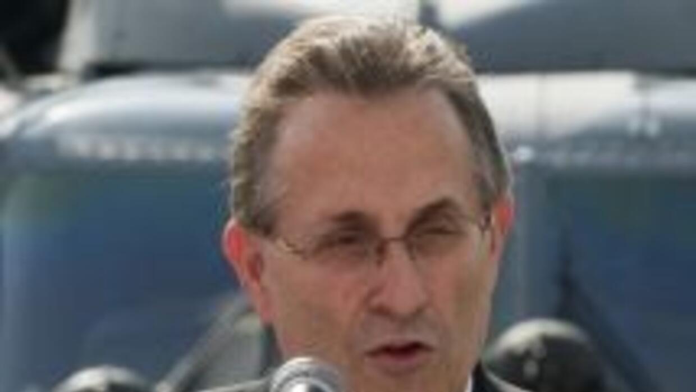 El embajador estadounidense, Anthony Wayne.