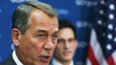 Boehner duda que el Congreso libere antes de agosto los fondos pedidos p...