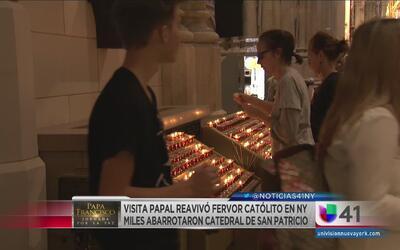 Visita papal revivió fervor católico