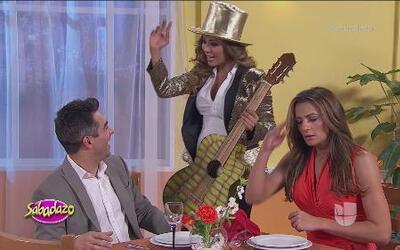 Cecilia Galliano se pelea en el restaurante de Aleida Núñez