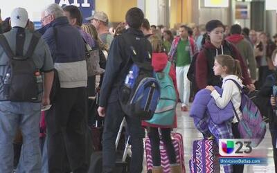 Millones de viajeros desde el aeropuerto DFW