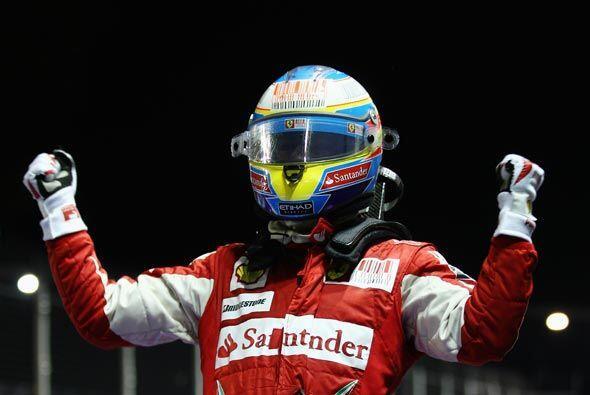 Ahora, Alonso pasó a ocupar el segundo puesto de la clasificaci&o...