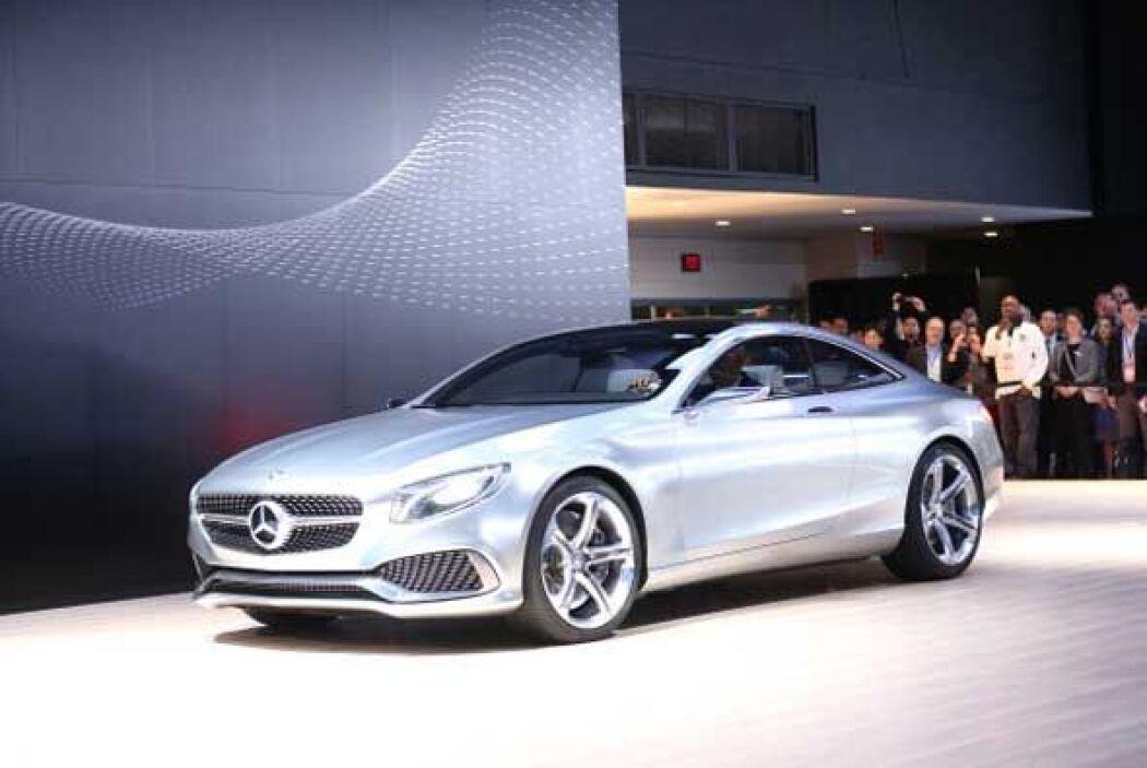 El nuevo Clase S de Mercedes-Benz muestra un estilo mucho más deportivo...