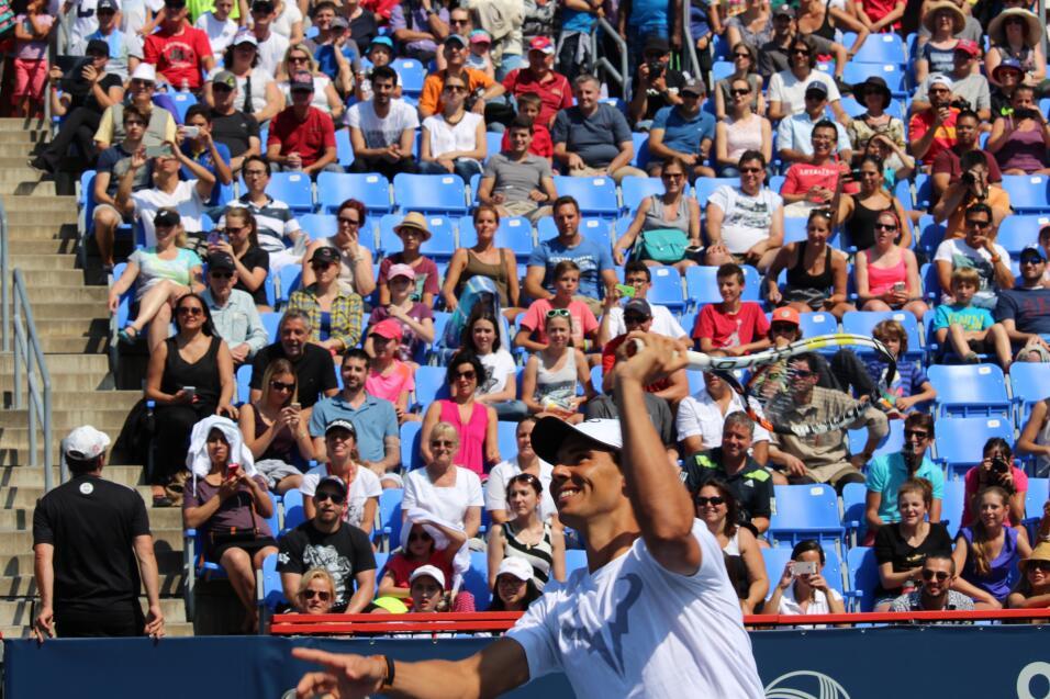Futbol y tenis se unen en Montreal