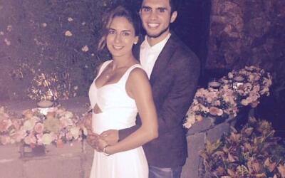 Paola Espinosa e Iván García.