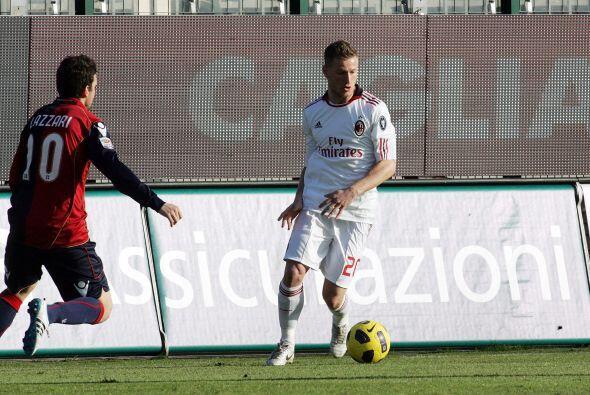 Milan visitó la cancha del Cagliari con ausencias como la del sue...